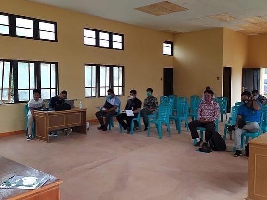 PKM (Pertemuan Konsultasi Masyarakat) Survey Investigasi dan Desain (SID) Penyedian Air Baku PLBN Provinsi Kalimantan Barat